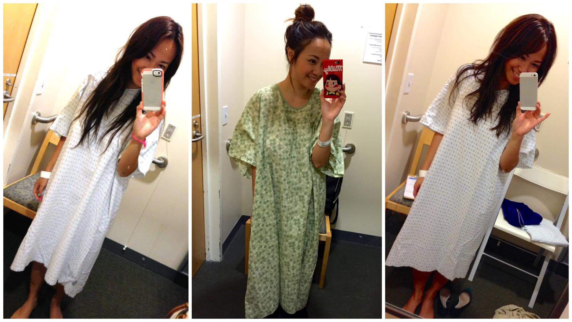 TBT : the hospital gown | caring for camille