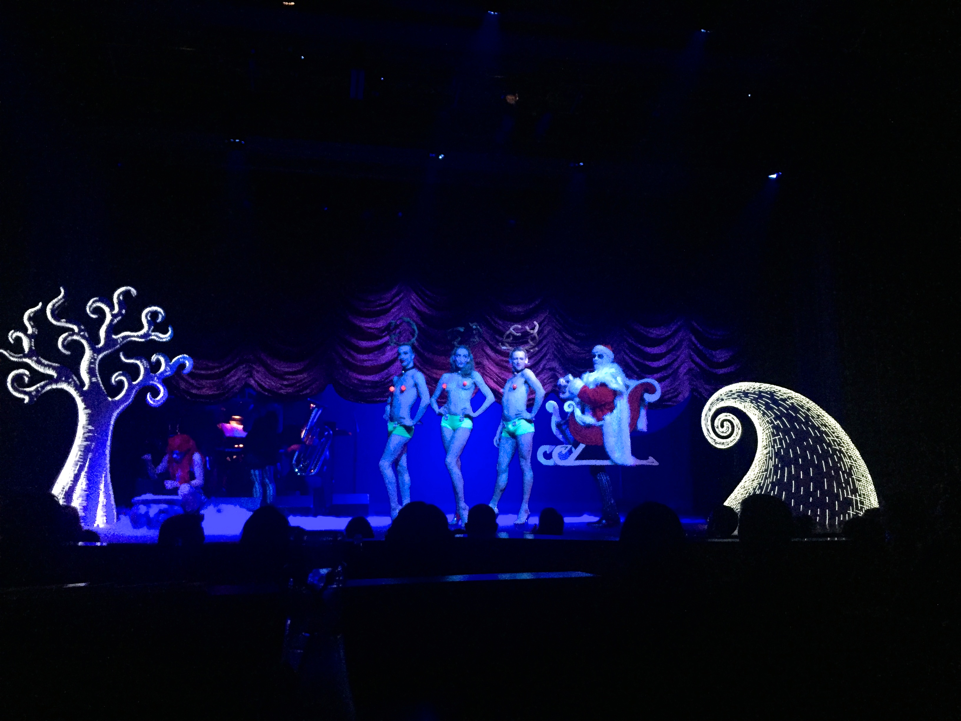 ... showcases a live orchestra cabaret burlesque and visual art installations that provide entertainment with every lively move at the Triple Door. & Triple Door | caring for camille