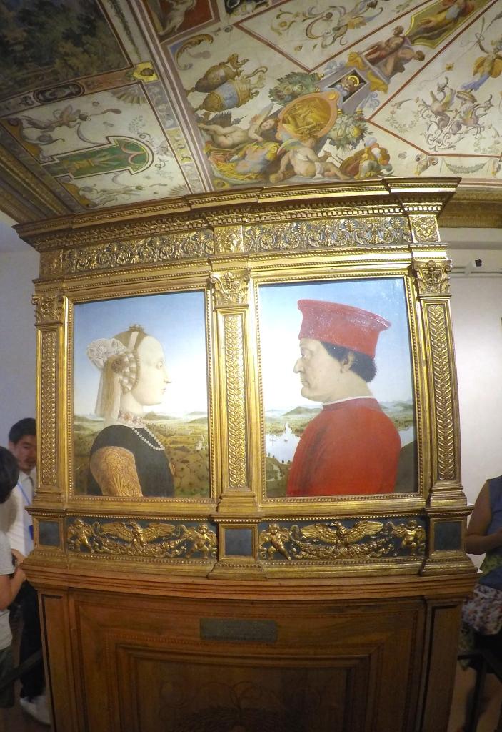 Duke and Duchess of Urbino, from Piero della Francesca