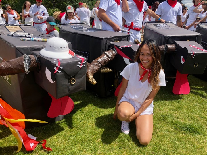 9TH ANNUAL RUNNING OF THE BULLS