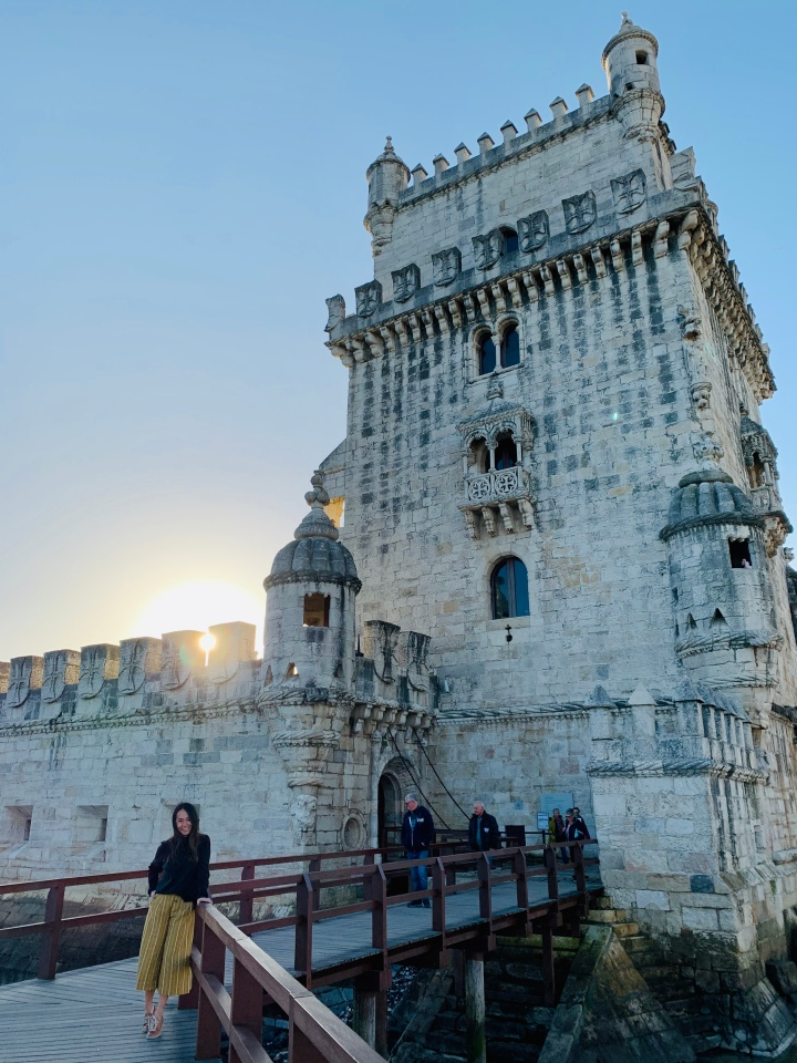 SHOOTING CANONBALL AT BELEM TOWER